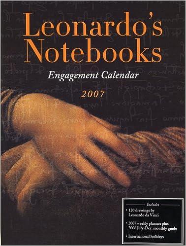 Descarga de libros electrónicos completa gratis Leonardo's Notebooks Engagement Calendar 2007 (Spanish Edition) ePub