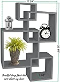 Greenco 4 Cube Intersecting Wall Mounted Floating