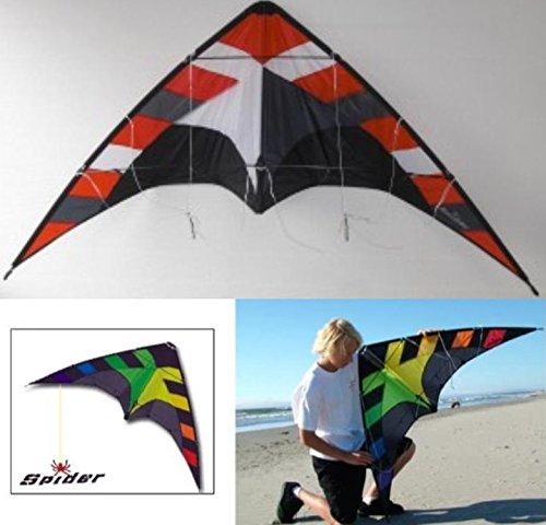 入門用スポーツカイト Wings【専門店 Kite】SPIDER Red/Flying Wings Kite】SPIDER Red B01EHWFLY6, 最上の品質な:923b125d --- ferraridentalclinic.com.lb