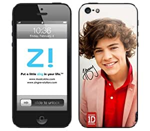 Zing Revolution One Direction Premium Vinyl Adhesive Skin for iPhone 5, 5S, 5C, Harry Image, MS-1D20318