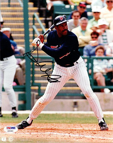 Dave Winfield Signed 8x10 Photograph Minnesota Twins - Certified Genuine Autograph By PSA/DNA - Autographed Photo