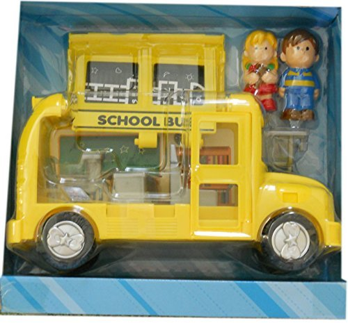 Kid Connection School Bus play set by walmart