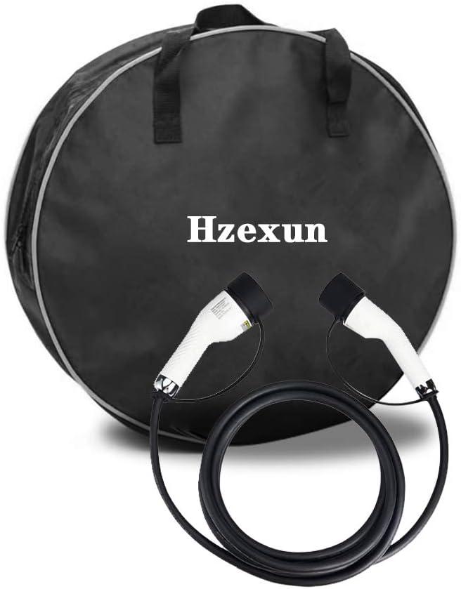 hzexun Cavo Di Ricarica EV Per Auto Elettriche,Tipo 2 A Tipo 2 16Amp EV Portatile Caricabatterie 5 Metri Per Veicoli Elettrici Monofase 16A 5M