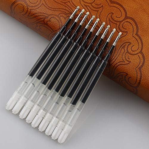 sijihua Kugelschreiberminen, Business-neutral, Schreibkern, glatter Unterschriftenkern, 30 Stück pro Packung 0.5mm Schwarz
