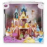 Disney Princess Light-Up Castle Play Set Includes 10 Princess Figurines