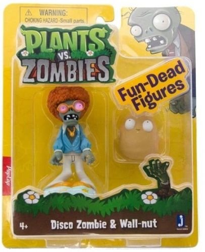 Homemade Disco Girl Costumes (Shalleen Plants vs. Zombies 3 inch Disco Zombie with Wall-nut! NEW!)