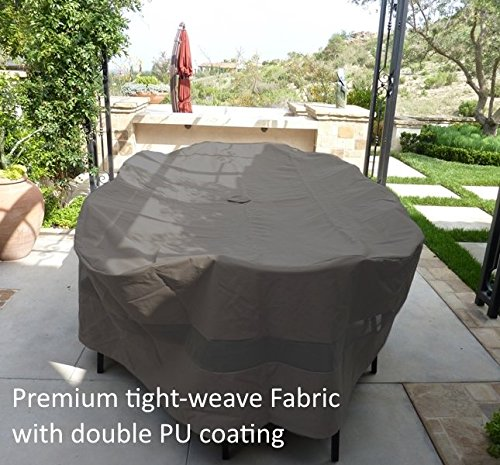 Center Umbrella (Premium Tight Weave Patio Set Cover 110