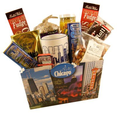 Chicago Gift (Chicago Deluxe Food Gift)