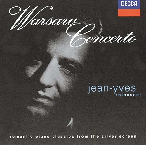 Price comparison product image Jean-Yves Thibaudet ~ Warsaw Concerto ~ romantic piano classics from the silver screen
