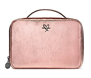 021531f2487c Buy 3 Piece Victoria s Secret Crackle 1 Metallic Pink Jetsetter Travel Bag  2 small Online at Low Prices in India - Amazon.in