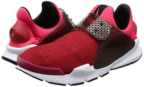 Nike Mens Sok Dart Loopschoen Gym Rood / Solar Rood-sirene Rood