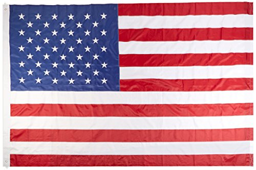 Quality Standard Flags Nylon Embroidered USA Flag, 10 by 15′