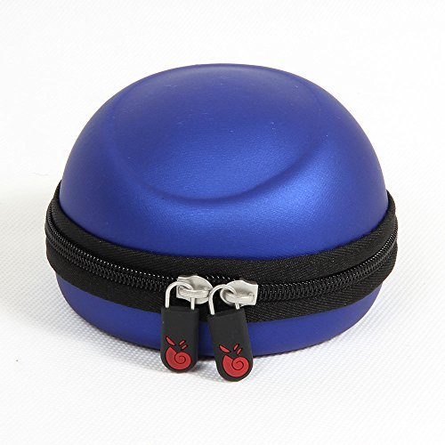 Eva Case Pouch Carrying (Hermitshell Travel EVA Protective Case Carrying Pouch Cover Bag for 3Dconnexion SpaceNavigator 3D Mouse 3DX-700028 3DX-70034 3DX-70043 Colour: Blue)