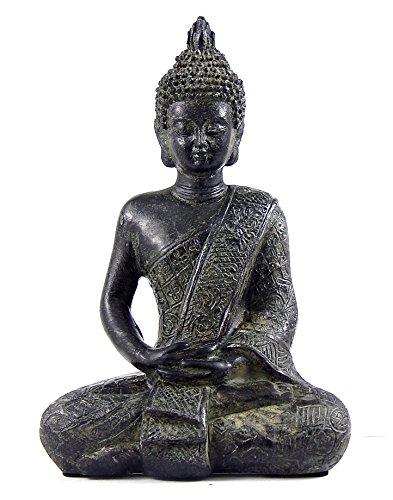 Bellaa 22739 Buddha Statues Antiques Bronze (Small Buddha Statue)