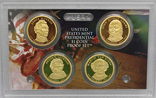 2008 S Presidential Dollar US Mint Poof set - (OGP) 4 coins