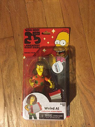 Simpsons 25th Anniversary Weird Al Action Figure