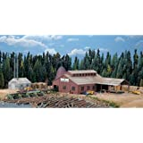Walthers Cornerstone Series174 N Scale Mountain Lumber Co. Sawmill - Kit