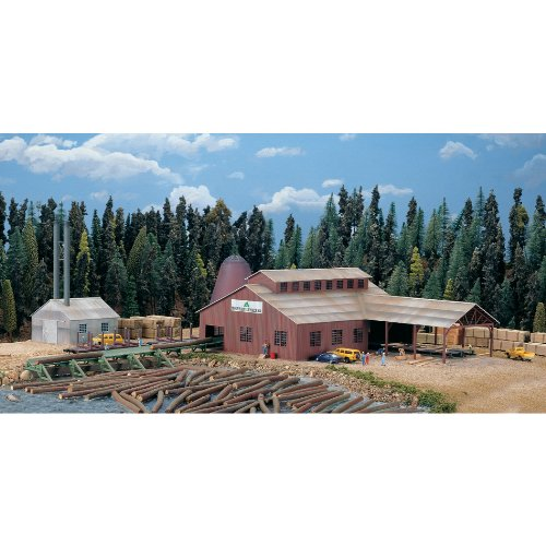 Walthers Cornerstone Series174 N Scale Mountain Lumber Co. Sawmill - Kit