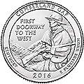 2016 S Clad Proof Cumberland Gap National Park NP Quarter Choice Uncirculated US Mint