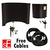 sE Electronics Project Studio Reflexion Filter / FREE (2) XLR MIC CABLES 20FT