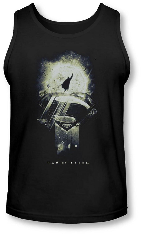 Man Of Steel - Mens Space Glow Tank-Top