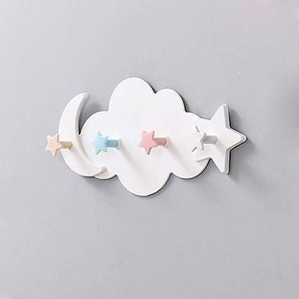 Amazon.com: AYOPV - Colgador de pared con forma de nube de ...