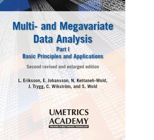 Multi- and Megavariate Data Analysis Basic Principles and Applications 2013