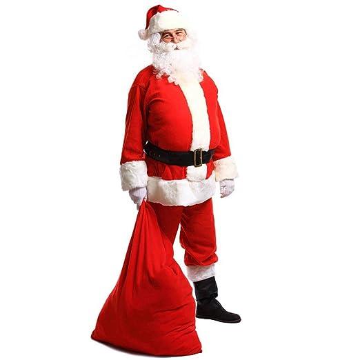 YMYJZ Traje Unisex para Hombre De Santa Claus, Navidad ...