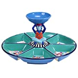 Tracy Porter for Poetic Wanderlust Reverie  Chip and Dip with 3-D Bowl 15'' x 7.5''