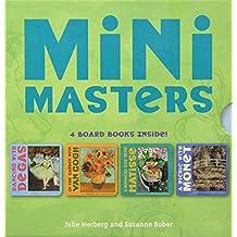 Mini Masters Boxed Set: 4 Board Books Inside! Degas, Matisse, Monet, Van Gogh