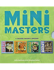 Mini Masters Boxed Set (Baby Board Book Collection, Learning to Read Books for Kids, Board Book Set for Kids): 4 Board Books Inside! Degas, Matisse, Monet, Van Gogh