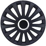 15 inch Le Mans Matte-Black Wheel Cover Kit - 4 Pack