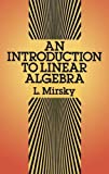 img - for An Introduction to Linear Algebra (Dover Books on Mathematics) book / textbook / text book