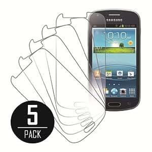 Mpero VVASOOI407 - Juego de protectores de pantalla para Samsung Galaxy Amp (5 unidades)