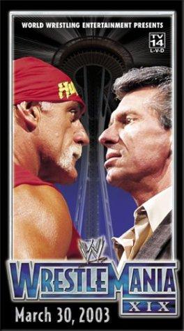 WWE: WrestleMania XIX [VHS] (Eddie Guerrero Vs Brock Lesnar Full Match)