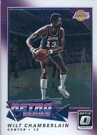 2017-18 Donruss Optic Retro Series  4 Wilt Chamberlain Los Angeles Lakers  Basketball Card b98fe5848