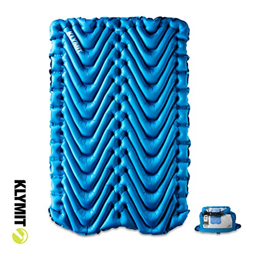 Double V Sleeping Pad - Blue (2020 Update)