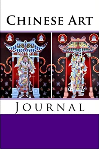 Chinese Art Journal: 100 page lined diary/notebook