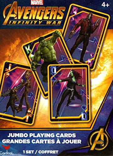 Marvel Avengers Infinity War - Jumbo Playing Cards Grandes Cartes a Jouer]()