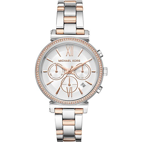 Michael Kors Watches Womens Sofie Two-Tone Watch