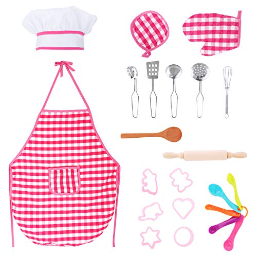 Wooden Spoon Costumes - Zooawa Kids Pretend Cooking and Baking