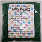 8oz Almost 15,000 Jelly BeadZ Water Bead Gel TURQUOISE Heat Sealed Bag Water Pearls Gel Beads Wedding & Event Centerpieces