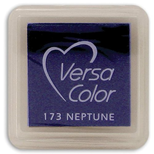 (Tsukineko Small-Size VersaColor Ultimate Pigment Inkpad, Neptune)