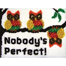 MCG Textiles 37662 Nobody's Perfect Latch Hook Rug Kit