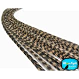 Moonlight Feather, Hair Extension Feathers - Tan Color, 11+ Inches Long - 6 Feathers