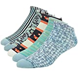 J'colour Men's Value Soft Funky Cycling Soccer Crew Socks 1,2or5 Pairs