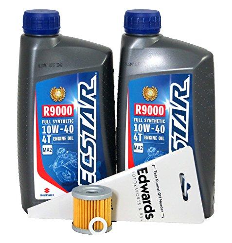 (2000-2003 Suzuki DR-Z400 Full Synthetic Oil Change Kit)