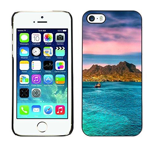 Premio Sottile Slim Cassa Custodia Case Cover Shell // F00007331 Costa Crociere // Apple iPhone 5 5S 5G