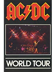 AC/DC 1980-81 Back In Black Tour Concert Program Programme Book