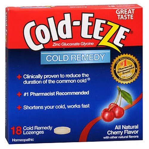 Cold-Eeze Cold-Eeze Cold Remedy, 18 Each, Cherry